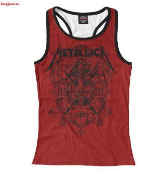 Майка борцовка Metallica thrash band