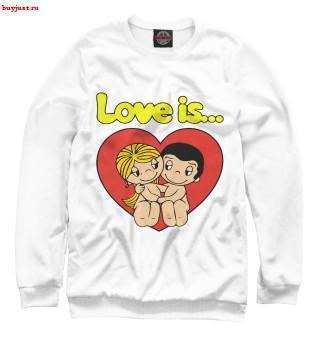 Свитшот Love is... (6)