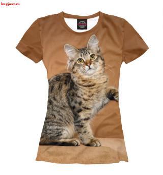 Футболка Леопардовый кот (2)