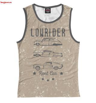 Майка Lowrider Rent Car